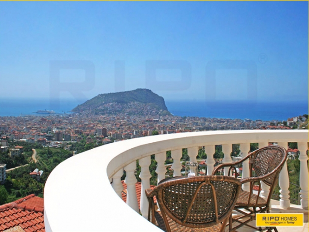 Properties in Alanya/Tepe for sale Ripo code: 1190-L-P
