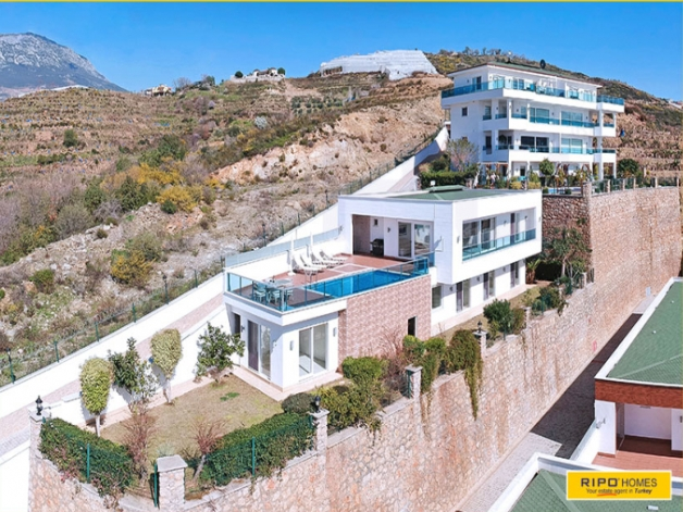 Properties in Alanya/Kargicak for sale Ripo code:1209-C34-P
