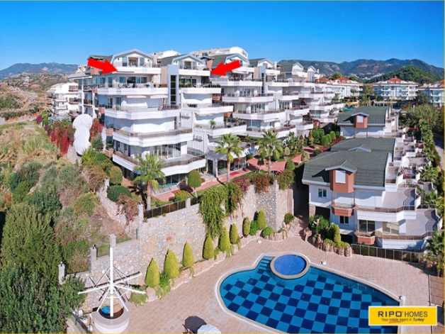 Apartment PROPERTIES in Alanya / Konakli