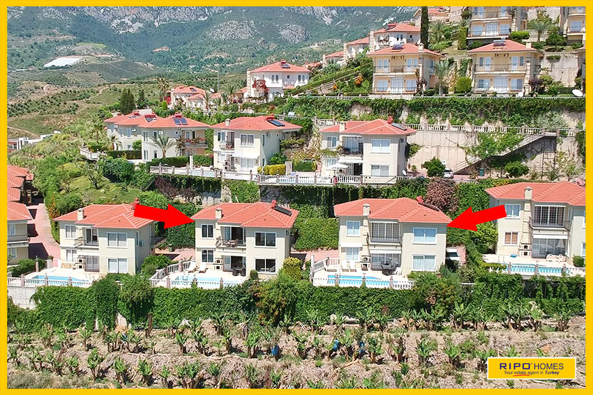 Properties in Alanya/Kargicak for sale Ripo code:1030-185-1-2-P