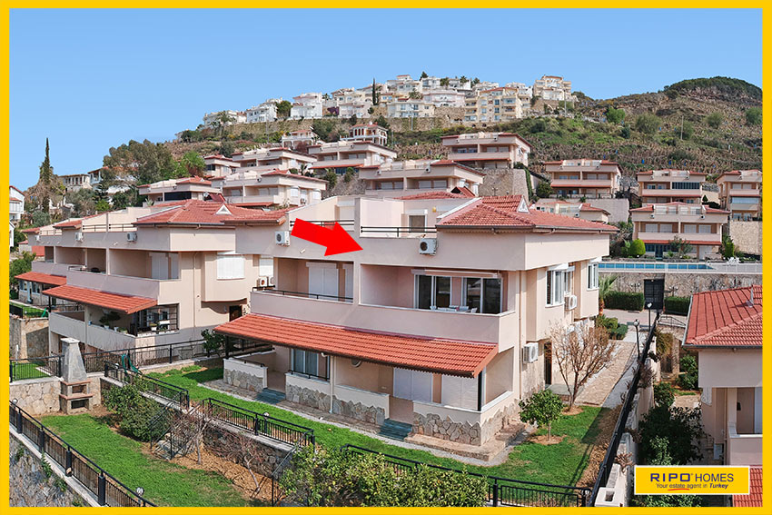 Properties in Alanya/Kargicak / Alanya for sale Ripo code:1054-222-C4-P