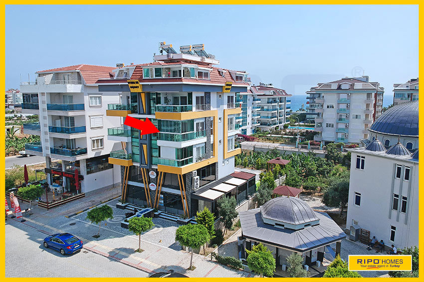 Properties in Alanya/Kestel / Alanya for sale Ripo code:1308-4-P