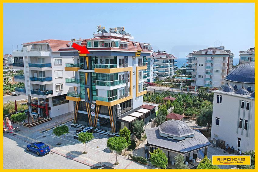Properties in Alanya/Kestel / Alanya for sale Ripo code:1308-6-P