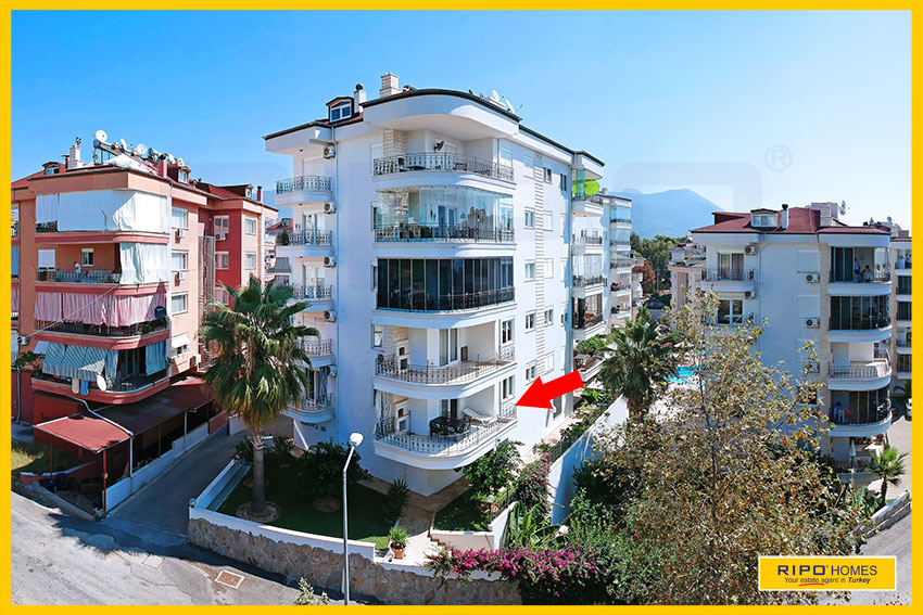 Properties in Alanya/Cikcilli / Alanya east for sale Ripo code:1284-A1-P