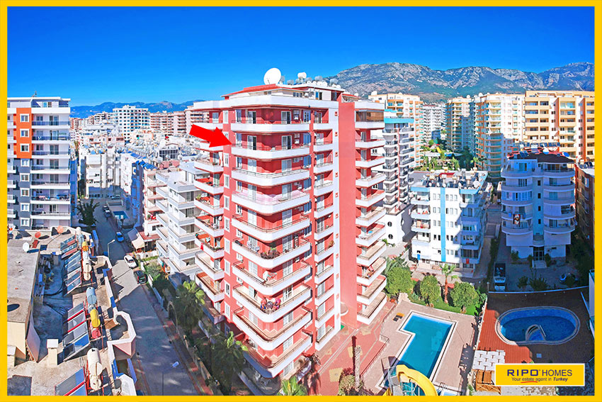 Properties in Alanya/Mahmutlar / Alanya for sale Ripo code:1217-28-P