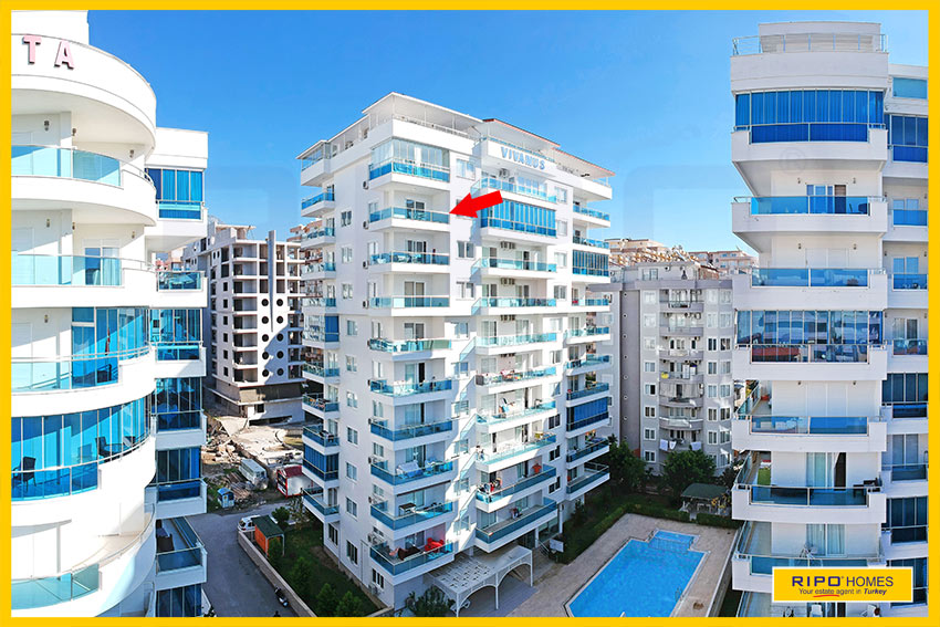 Properties in Alanya/Mahmutlar / Alanya for sale Ripo code:1294-36-P