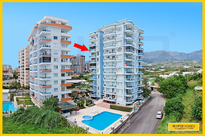 Properties in Alanya/Mahmutlar / Alanya for sale Ripo code:1186-28-P