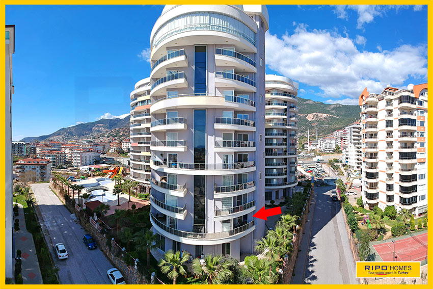 Properties in Alanya/Cikcilli / Alanya for sale Ripo code:1226-D1-P