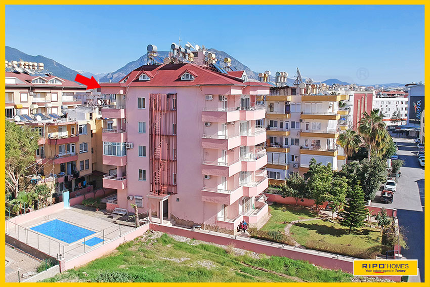 APARTMENTS PROPERTIES in Alanya / Oba / Alanya