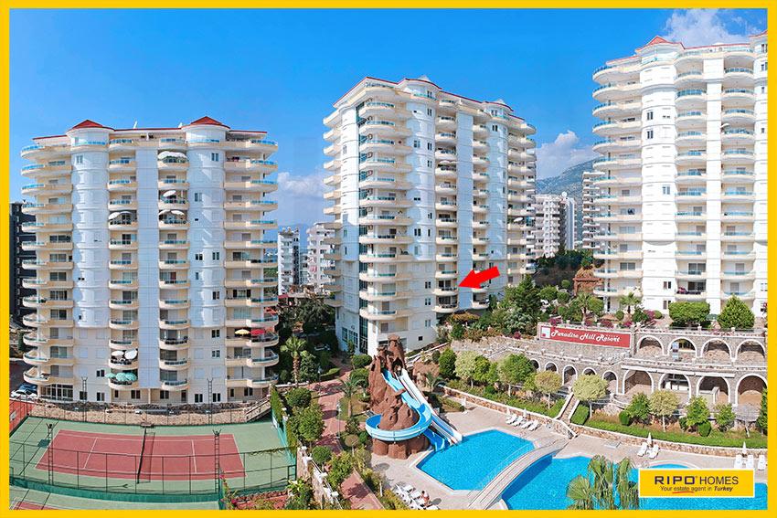 Properties in Alanya/Mahmutlar / Alanya for sale Ripo code:1058-C1-3-P