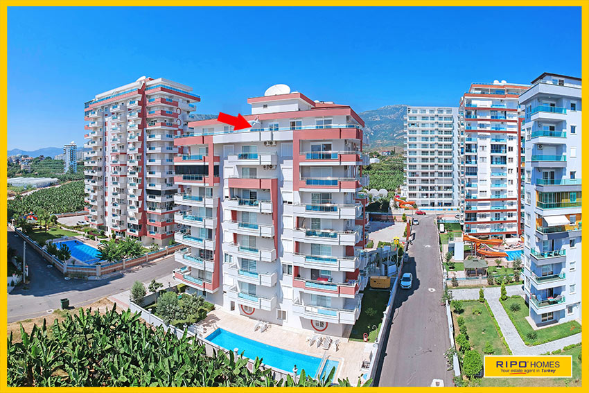 Properties in Alanya/Mahmutlar / Alanya for sale Ripo code:1142-19-P