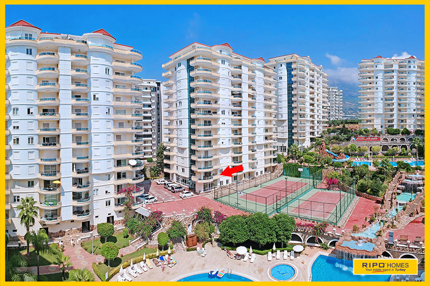 Properties in Alanya/Mahmutlar / Alanya for sale Ripo code:1058-B1-2-P