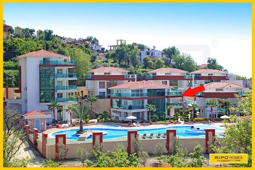 Properties in Alanya/Kargicak / Alanya for sale Ripo code:1164-B2-3-P