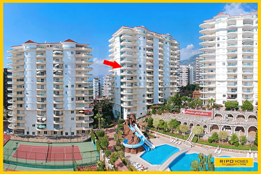 Properties in Alanya/Mahmutlar / Alanya for sale Ripo code:1058-C1-14-P