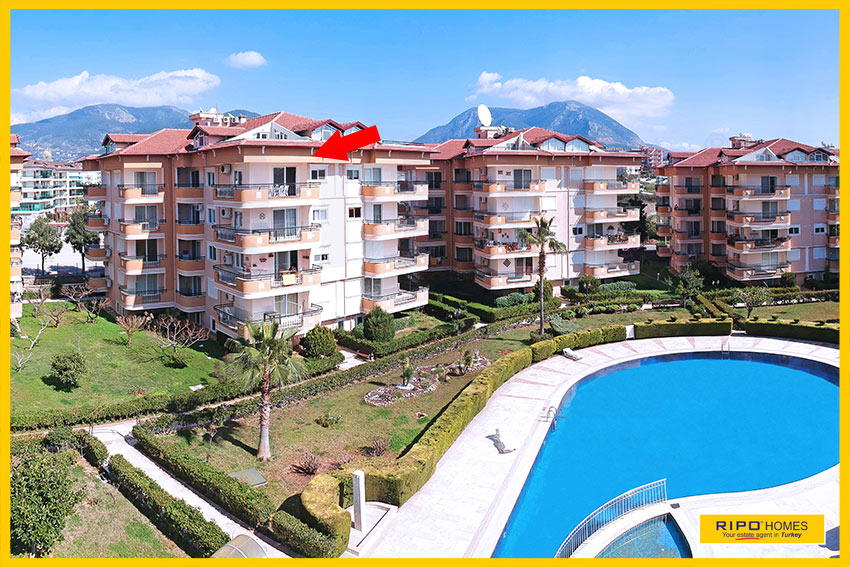 Properties in Alanya/Oba / Alanya for sale Ripo code:1300-C14-P