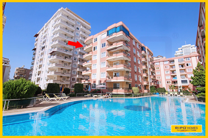 Properties in Alanya/Mahmutlar / Alanya for sale Ripo code:1081-B18-P