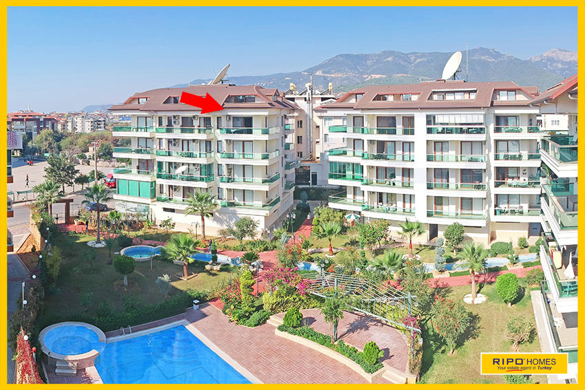 Properties in Alanya/Oba / Alanya east for sale Ripo code:1246-B10-P