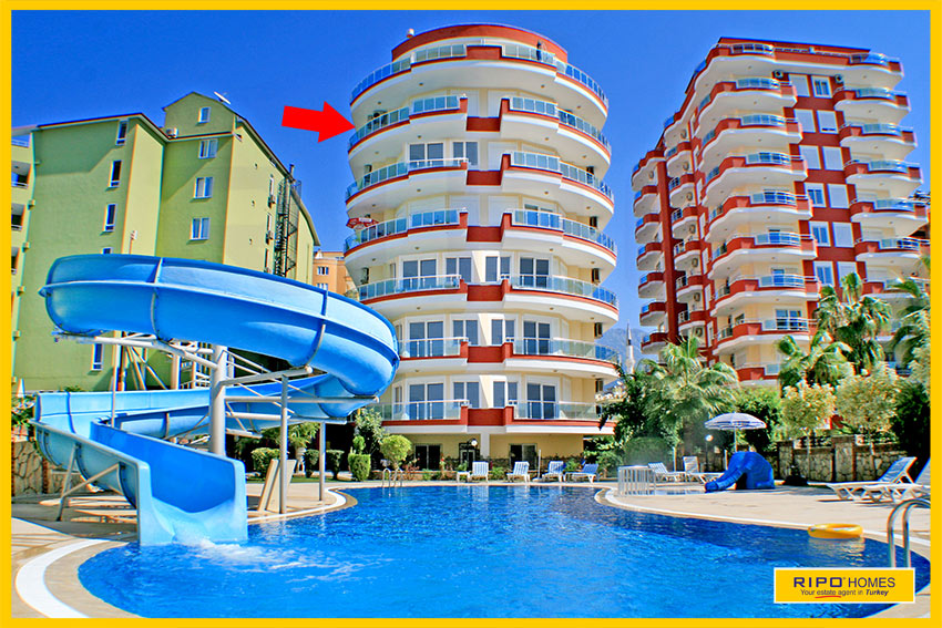 Properties in Alanya/Mahmutlar / Alanya for sale Ripo code:1032-B20-P