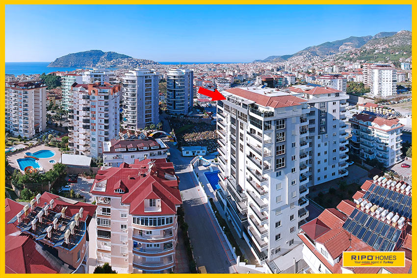 Properties in Alanya/Cikcilli / Alanya for sale Ripo code:1293-A32-P