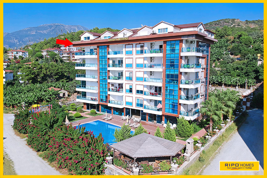 Properties in Alanya/Kargicak / Alanya for sale Ripo code:1133-33-P