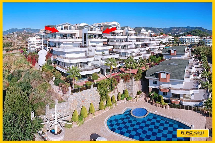 Properties in Alanya/Konakli / Alanya for sale Ripo code:1292-A7-A8-P