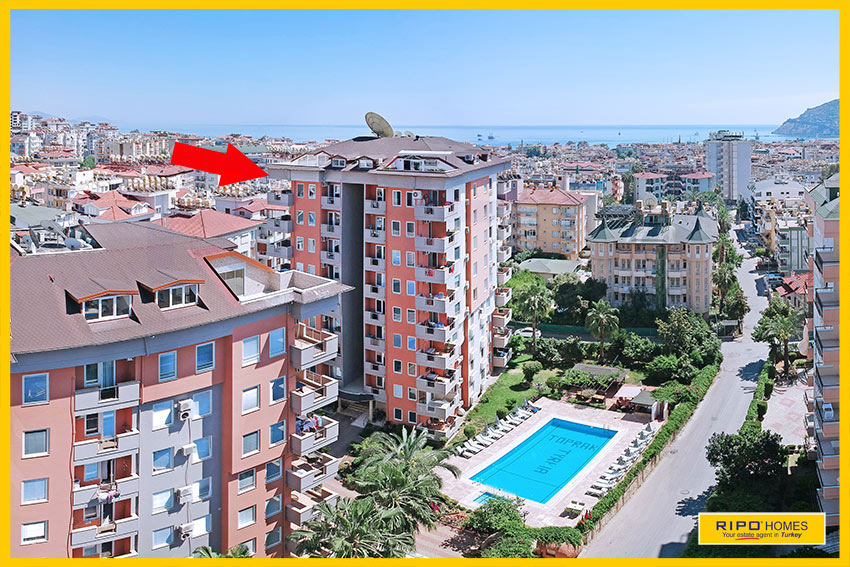 Properties in Alanya/Alanya for sale Ripo code:1270-A32-P