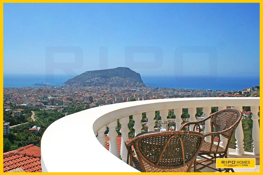 Properties in Alanya/Tepe / Alanya for sale Ripo code:1190-L-P