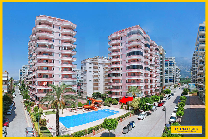 Properties in Alanya/Mahmutlar / Alanya for sale Ripo code:1297-A2-2-P