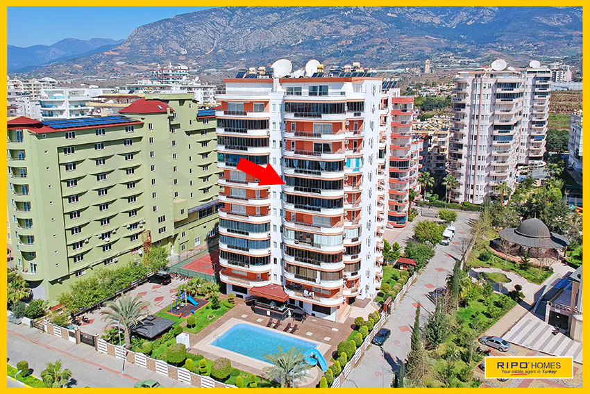 Properties in Alanya/Mahmutlar / Alanya for sale Ripo code:1049-28-P