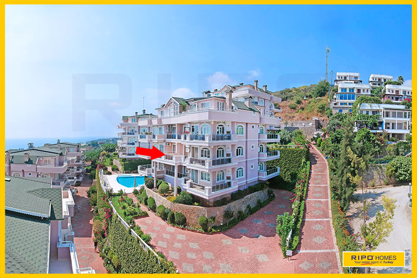 Properties in Alanya/Demirtas / Alanya for sale Ripo code:1177-C4-P