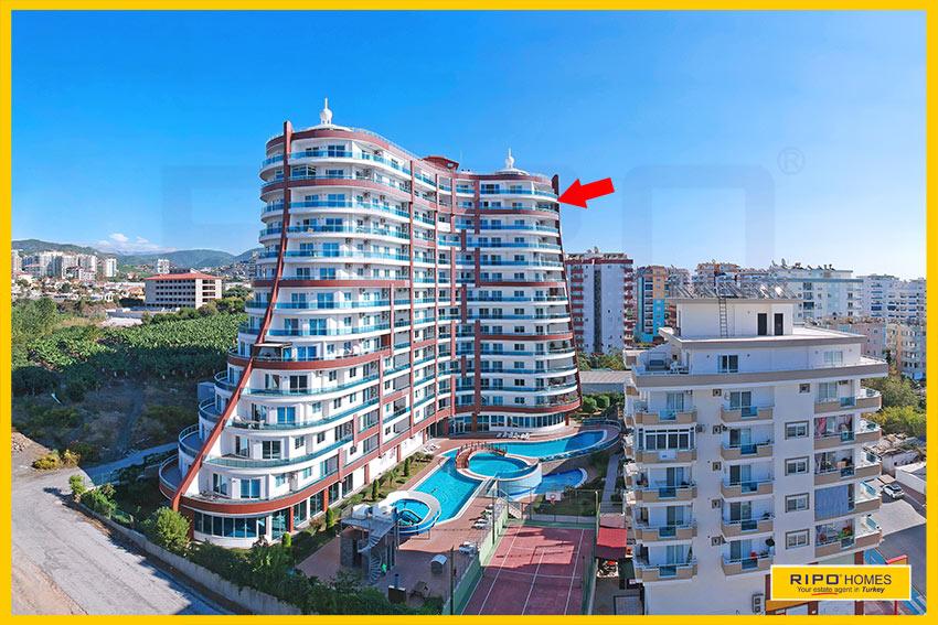 Properties in Alanya/Mahmutlar / Alanya for sale Ripo code:1118-127-P