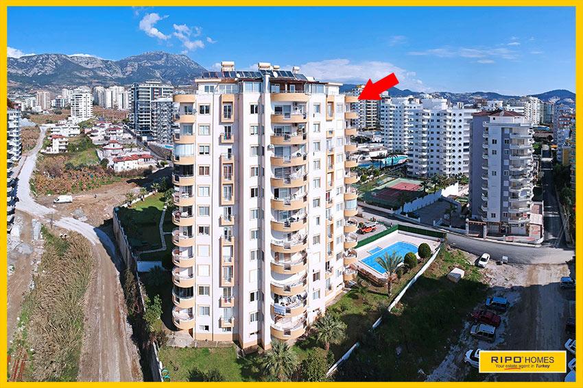 Properties in Alanya/Mahmutlar / Alanya for sale Ripo code:1047-31-P