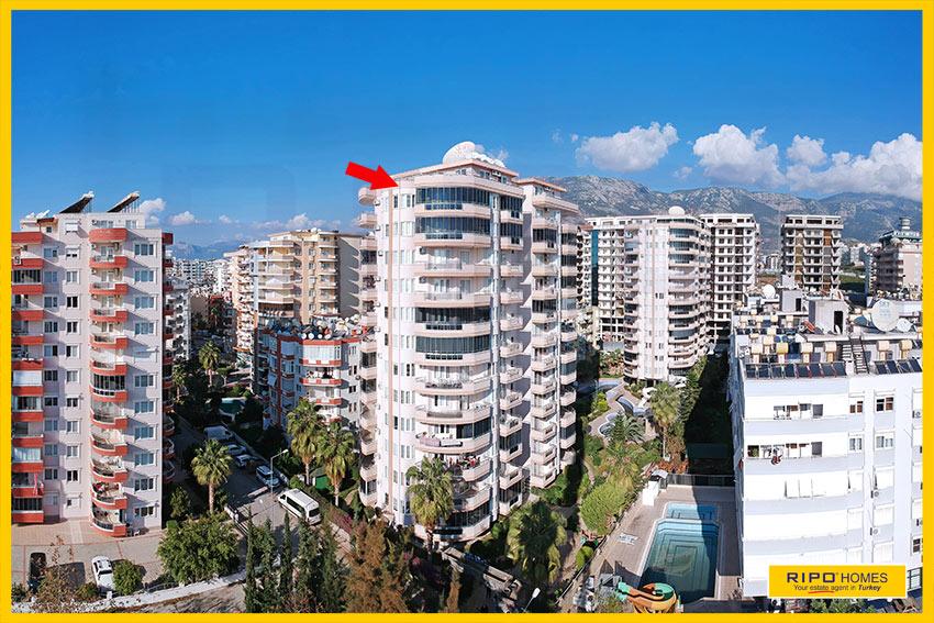 Properties in Alanya/Mahmutlar / Alanya for sale Ripo code:1104-B45-P