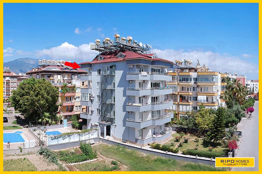 Properties in Alanya/Oba / Alanya for sale Ripo code:1259-10-P