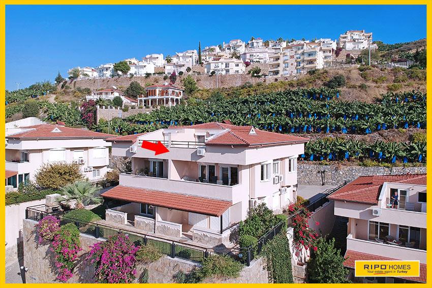 Properties in Alanya/Kargicak / Alanya for sale Ripo code:1054-221-A4-P