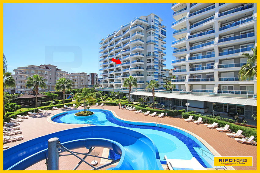 Properties in Alanya/Cikcilli / Alanya for sale Ripo code:1227-A26-P