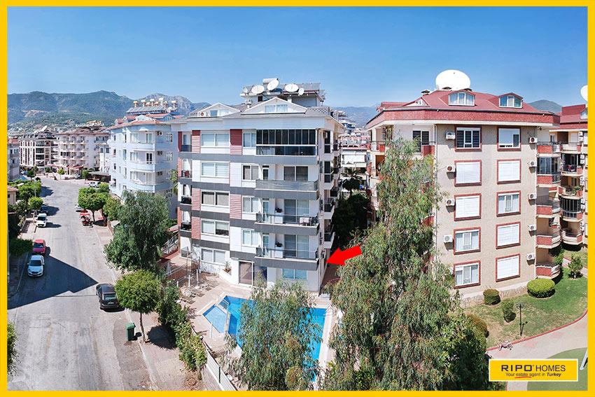 Properties in Alanya/Oba / Alanya for sale Ripo code:1315-8-P