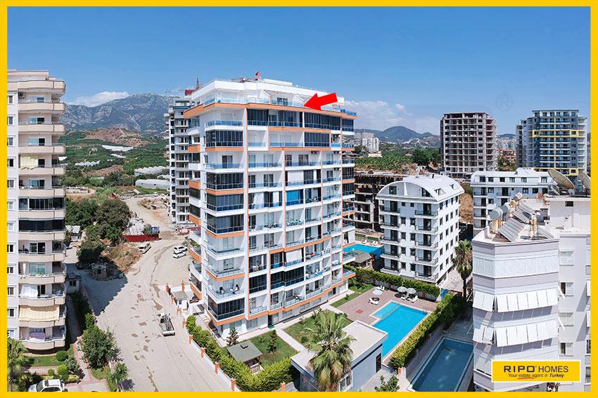 Properties in Alanya/Mahmutlar / Alanya for sale Ripo code:1333-47-P