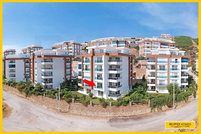 Properties in Alanya/Kargicak / Alanya for sale Ripo code:1209-A6-3-P