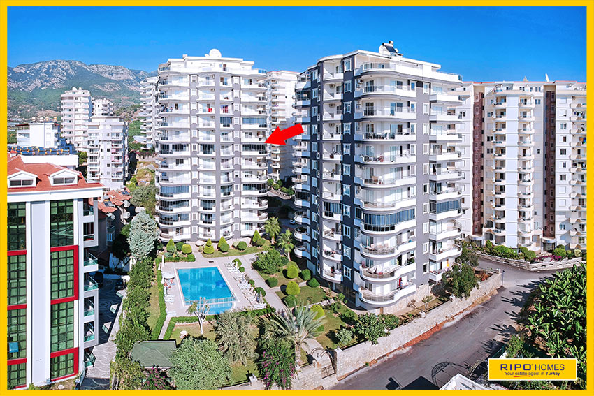 Properties in Alanya/Mahmutlar / Alanya for sale Ripo code:1064-A24-P